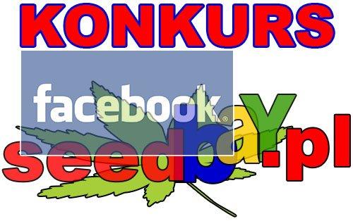 nasiona marihuany, nasiona konopi, facebook